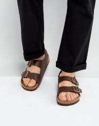 Birkenstock Milano Sandals in Dark Brown - Brown