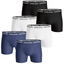 Björn Borg 6-pak Essential Shorts - Mixed * Kampagne *