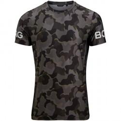 Björn Borg Printed Tee - Black pattern-2 * Kampagne *