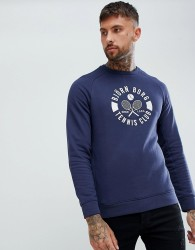 Bjorn Borg Summer Sweat Shirt with Crew Neck - Navy