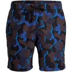 Björn Borg Sylvester Loose Swim Shorts - Blue Pattern * Kampagne *