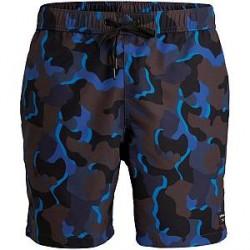 Björn Borg Sylvester Loose Swim Shorts - Blue Pattern - Large * Kampagne *