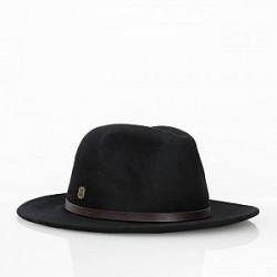 Black Kaviar Hat - Wool