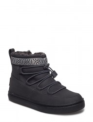 Black Synthetic Suede Alpine Seasonal New Youth