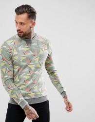Blend all over print sweatshirt - Grey