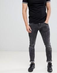 Blend black washed skinny biker jeans - Black