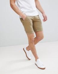 Blend Chino Shorts in Khaki - Green