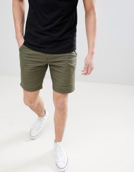 Blend Chino Shorts with Belt - Green
