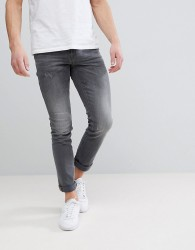 Blend Cirrus Skinny Fit Jeans Denim Grey - Blue