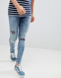 Blend Flurry Muscle Fit Jeans in Blue Black - Blue