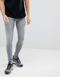 Blend flurry muscle fit jeans in grey - Grey