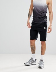 Blend Jersey Shorts in Black - Black