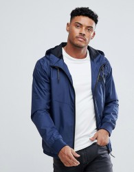 Blend Lightweight Nylon Jacket in Navy - Navy