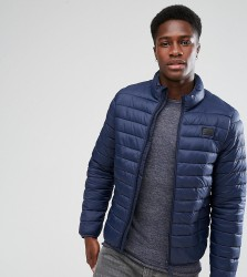 Blend Lightweight Quilted Jacket - Navy