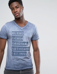Blend Logo T-Shirt - Navy