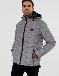 Blend padded jacket in grey - Grey
