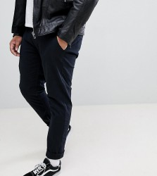 Blend Plus Slim Fit Chino in Black - Black