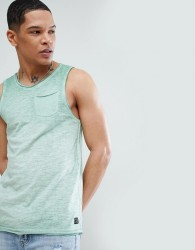 Blend Pocket Vest Green - Green