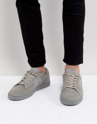 Blend Real Suede Trainers - Grey