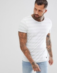 Blend reverse stripe t-shirt - Grey