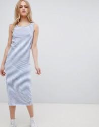 Blend She Jemima Striped Sleeveless Dress - Blue