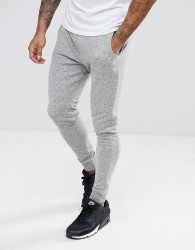 Blend Skinny Joggers in Grey - Grey