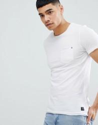 Blend Slim Fit Pocket T-Shirt White - White