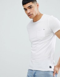 Blend Slim Fit Pocket T-Shirt White - White