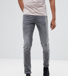 Blend TALL Cirrus Skinny Fit Jeans Denim Grey - Blue