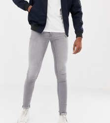 Blend Tall flurry muscle fit jeans in grey - Grey