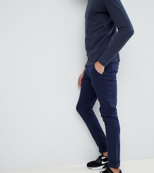 Blend Tall slim fit chino in navy - Navy