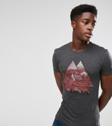 Blend Triangles T-Shirt - Black