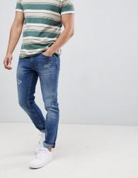 Blend twister slim fit jeans lightwash - Blue