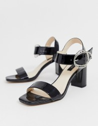 Blink block heeled sandals - Black