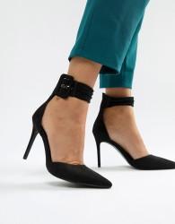 Blink Pointed High Heels - Black