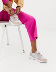 Blink Runner Lace Up Trainers - Grey