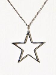 Blue Billie Big Star Charm Vedhæng