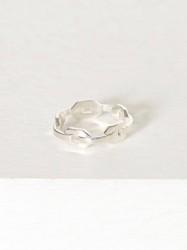 Blue Billie Chain Ring Ring Sølv