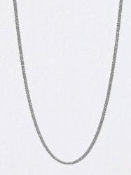 Blue Billie Criss Cross Chain 45cm Halskæde Sølv