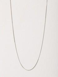 Blue Billie Curb Chain 60cm Halskæde Sølv