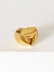 Blue Billie Heart Ring Ring Guld
