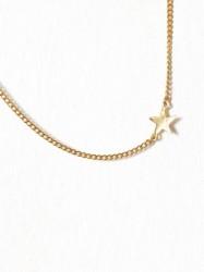 Blue Billie Star Curb Bracelet Armbånd Guld