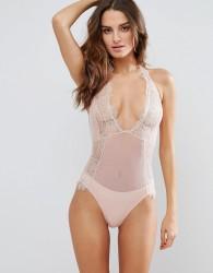 Bluebella Amelie Lace Sleeveless Body - Pink