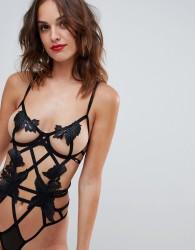 Bluebella Nikita Stappy Underwired Body - Black