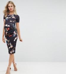 Bluebelle Maternity Short Sleeve Bodycon Dress - Multi