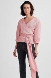 Bluse Fabina Wrap Top