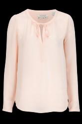 Bluse med kvaste