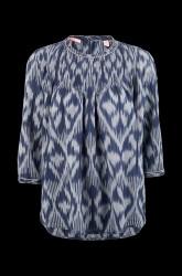 Bluse mønstret