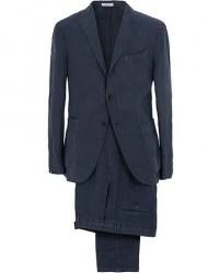 Boglioli K Jacket Linen Suit Navy men 50