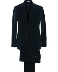 Boglioli K Jacket Patch Pocket Corduroy Suit Navy men 46